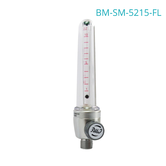SLIM series hosptal use oxygen flowmeter with the humidifier